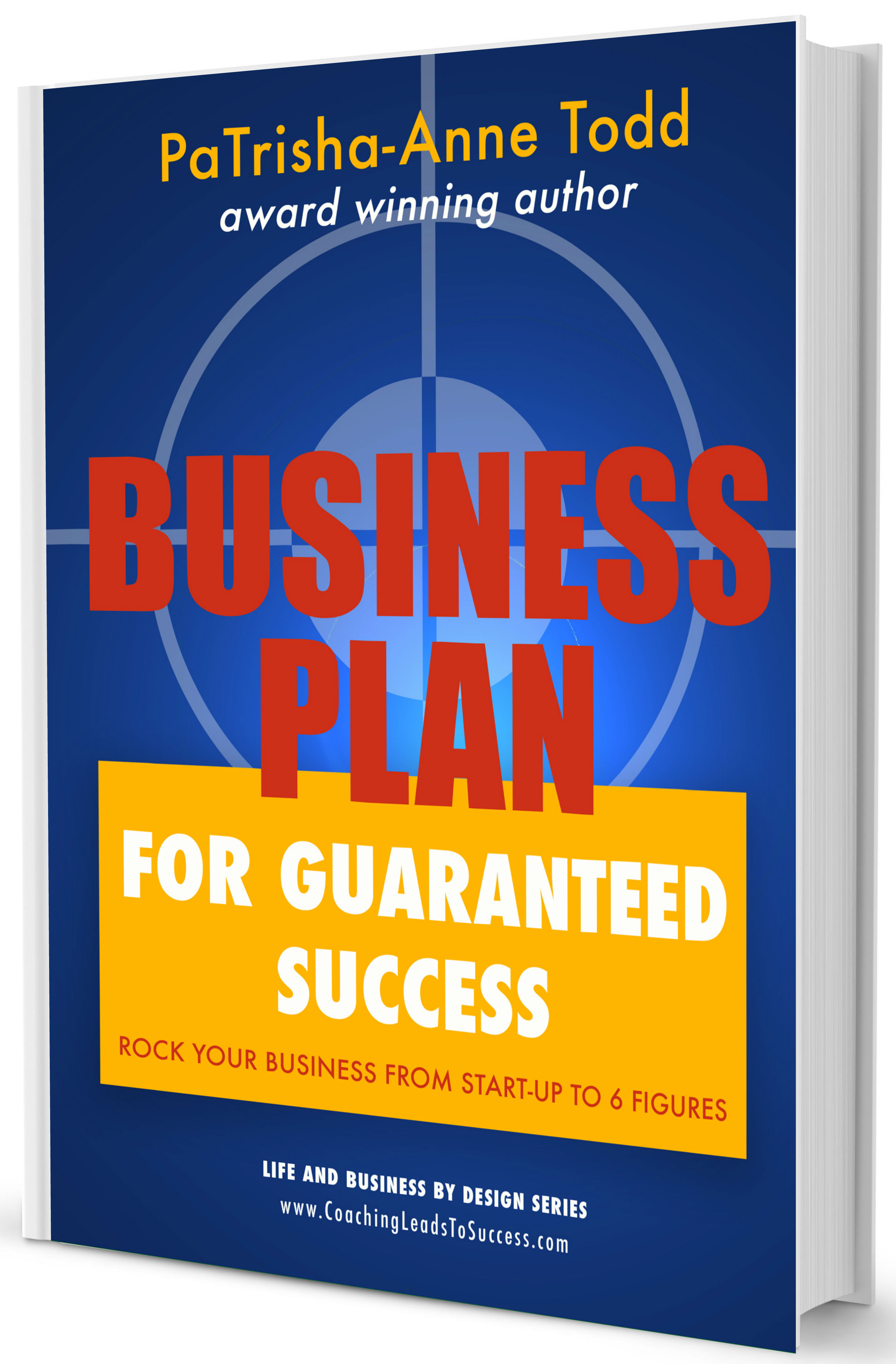 The Business Plan written by Award Wining Author PaTrisha-Anne Todd